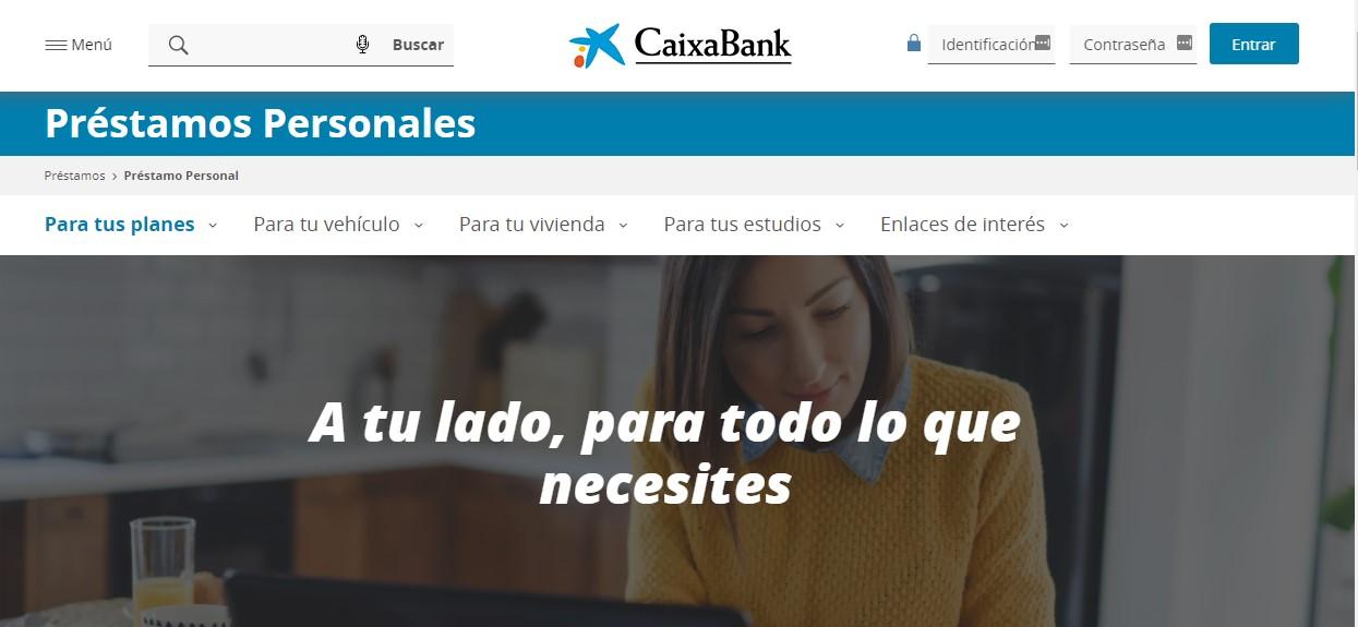 Simulador de préstamo La Caixa